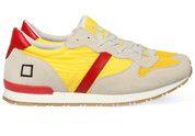 Gele D.A.T.E. schoenen Boston