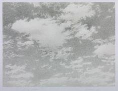 Vija Celmins 'Sky', 1975 © Vija Celmins