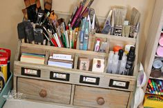 Triple the Scraps: Organizational {Friday} Storage from Hobby Lobby