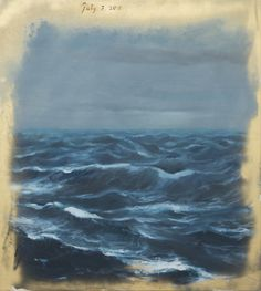 Enrique Martínez Celaya (Cuban, b. 1964), The Ordinary Heartbreak, 2016. Oil and wax on canvas, 40 × 36 in.