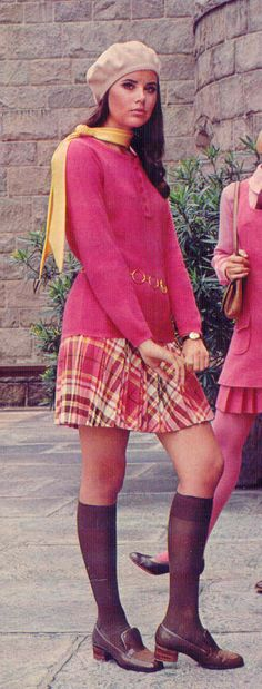 Colleen Corby in Vintage Fashion Seventies Fashion, Mod Fashion, 1960s Fashion, Teen Fashion, Fashion Models, Vintage Fashion, Womens Fashion, Fashion Brands, Lauren Hutton