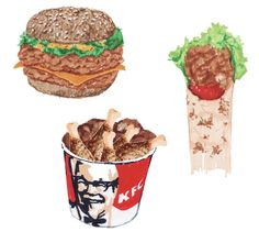 KFC - illustration très très épicée!