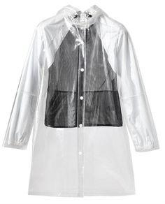 Opening Ceremony Transparent PVC Raincoat