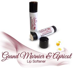 Tired of dry, hard lips? This Grand Marnier & Apricot Lip Softener will take care of the dryness and hard lip problems in no time! Compare to those nasty tasting balms to this scrumptious healing softener! A Perfected blend of a first class cognac and juicy, sweet apricots, vanilla and subtle spi...