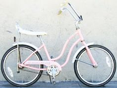Banana Seat Bike!  I had one similar to this.  Mine was green and had four leaf clovers on the chain guard and it had a white seat.  It wasn't a 3 speed like I wanted and it didn't have hand brakes like I wanted.  It came from Monkey-Wards too.