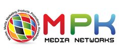 Logo of M P K MEDIA NETWORKS. We are into the business of Social Media Marketing, production of audio books, making ad films, and other information oriented and message relevant movies.