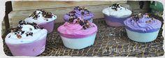 Cup Cakes Soap ai Frutti di Bosco (fruits of the wood)