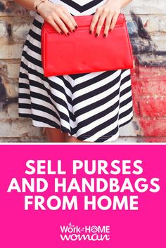 Are you looking for a home-based business that doesn't involve a lot of research and setup? If so, you're a perfect fit to sell purses from home! Legit Work From Home, Busy At Work, Work From Home Moms, Handbags On Sale, Purses And Handbags, Home Based Business, Business Ideas, Business Help, Online Business