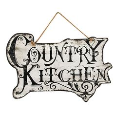 72825 COUNTRY KITCHEN SIGN
