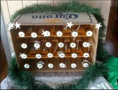 Beer Advent Calendar! Brilliant!!! I know some guys who could get in to an Advent calendar like this!