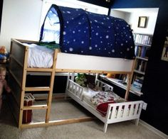 Lets Camp With Loft Bed For Kids Ikea