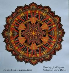 Another Gavin Davies colouring! by Mandala-Jim.deviantart.com on @DeviantArt