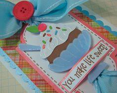 Birthday Bash Cricut card