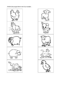 1 million+ Stunning Free Images to Use Anywhere Animal Worksheets, Writing Worksheets, Preschool Worksheets, Preschool Activities, Farm Animals Preschool, Baby Farm Animals, Farm Coloring Pages, Coloring Books, How To Make Earth
