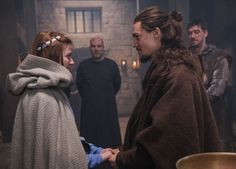 The Last Kingdom - Mildrith and Uhtred