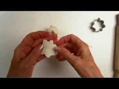 come fare un angelo in piedi in pasta al mais/ceramica fredda 2° parte - standing angel 2 part - YouTube