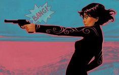 """""""Gun Girl II"""" by Daniela Uhlig."""