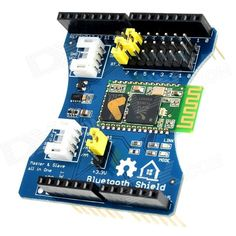 Bluetooth Shield Integration Expansion Board Module for Arduino (Works with Official Arduino Boards) Arduino Bluetooth, Arduino Board, Serial Port, Stepper Motor, Home Automation, Cool Gadgets, The Expanse, It Works, Boards
