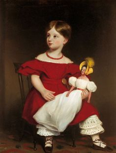 Attributed to Thomas Bock   (1790-1855)  —  Portrait of Eliza Langhorne, c.1849   (564×739)
