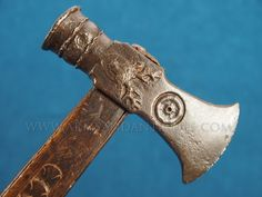 Very rare and early Germanic or Austrian Boar Hunting Axe, Renaissance period mid 16th C. - early 17th C.