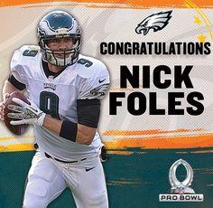 QB Nick Foles Pro Bowl bound.  FlyEaglesFly 439f8b4a7