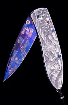 "One of the most expensive William Henry knives ~ ""Liberty"" is one of the most beautiful knives WH has ever produced!!"