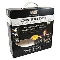 Giani Countertop Paint Kit, Bombay Black Giani Granite https://www.amazon.com/dp/B0034IHY5O/ref=cm_sw_r_pi_dp_x_Sqr9ybQQA707D