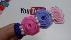 Nueva forma de elaborar la flor rococo para decorar lindos accesorios pa...