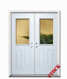 Flush Steel Exterior 6-8 Double Door   Darpet Interior Doors for Chicago Builders ://darpet.com/products-catalog/exterior-doors/steel-exterior-\u2026