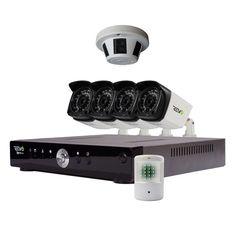 Revo Advanced Aero HD 1080p 8 Ch. Video Security System with 6 Cameras #RevoAmerica
