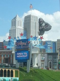 Hollywood wax museum in pigeon forge! I cant wait to go to pigeon forge!!! so much fun!