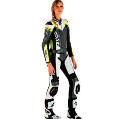 Spyke 4Race Div Women Motorcycle Leather Suits, 4Race RAC Motorcycle Suits For Lady