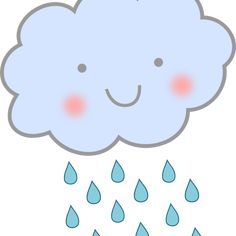 rain (on my face) image Squirrel Clipart, Raindrop Baby Shower, Micro Creche, Red Background Images, Rain Pictures, Cartoon Clouds, Image Clipart, Baby Posters, Rain Clouds