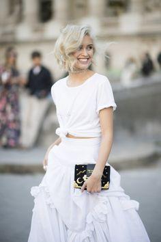 Sarah Ellen's Tied Top & Bohemian Twist Skirt.