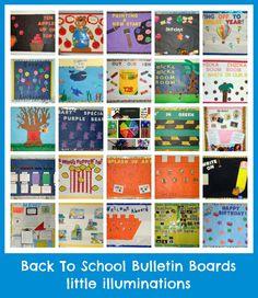 little illuminations: Back To School Bulletin Boards...Redux!
