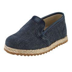 Παπούτσια βάπτισης για αγόρι εσπαντρίγια τζην σε μπλε χρώμα PLA 183 Espadrilles, Flats, Shoes, Fashion, Espadrilles Outfit, Loafers & Slip Ons, Moda, Zapatos, Shoes Outlet
