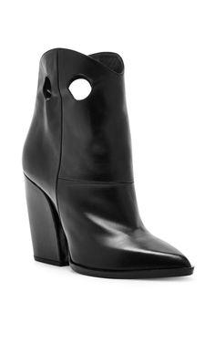 Marfa Western Heeled Black Boots by PIERRE HARDY Now Available on Moda Operandi