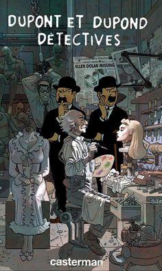 Les Aventures de Tintin - Album Imaginaire - Dupont et Dupond Détectives