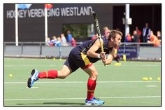 Hockey WK 2014 - Training Spanje bij Hockey Vereniging Westland