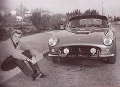 Johnny et sa Ferrari 250 GT