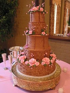 I want a redo on my wedding, just so I can have this cake.