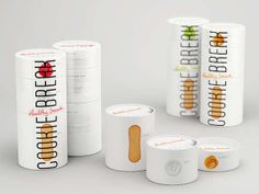 Stacked Snack Branding - Cookie Break Packaging is a Crisp Tower of Goodness-Crammed Containers (GALLERY)