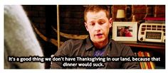 Think about it, Snow, Charming, Emma, Henry, Regina, Rumpel, Neal/Bealfire, and possibly Belle all at one table. They are all related through one way or another and most of them want Henry to themselves... disaster.