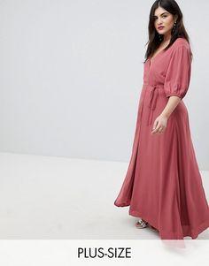 http://www.asos.com/fashion-union-plus/fashion-union-plus-maxi-wrap-dress-with-balloon-sleeves/prd/9154186?clr=raspberry&SearchQuery=&cid=9577&gridcolumn=2&gridrow=1&gridsize=4&pge=4&pgesize=72&totalstyles=471