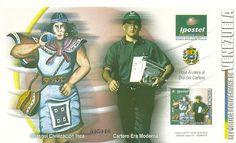 Estampillas Venezolanas. Detalle de una emisión