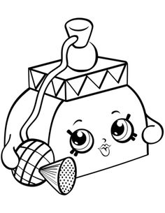 Perfume Shopkins Season 4 Coloring Pages Printable And Book To Print For Free Find More Online Kids Adults Of