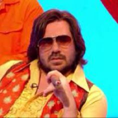 Matt Berry makes me laugh! Matt Berry, The Mighty Boosh, I Laughed, Attitude, Berries, Comedy, How To Memorize Things, Mens Sunglasses, Take That