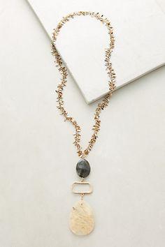Manella Stack Pendant Necklace #anthropologie