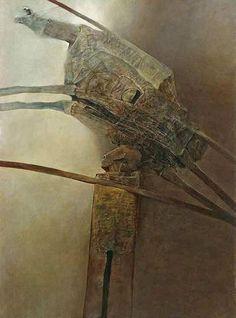Sans titre 515 de Zdislav Beksinski (1929-2005, Poland)