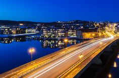 Lund bridge in Kristiansand, Norway Kristiansand Norway, Little Land, Cool Countries, Lund, Its A Wonderful Life, People Of The World, Bridges, Places Ive Been, Paths